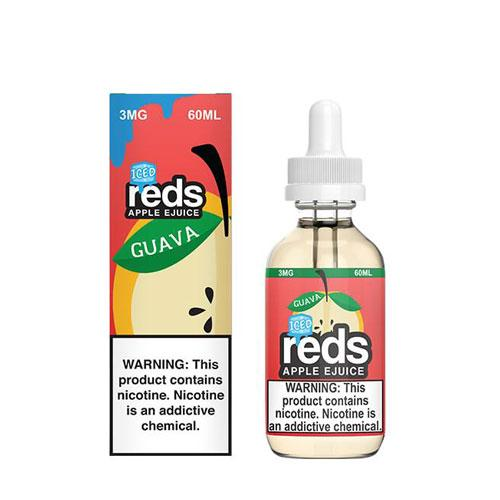 Reds Apple Guava ICED 60ml Vape Juice-Blazed Vapes