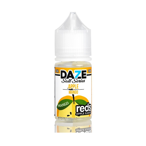 7 Daze Reds Salts Mango 30ml Nic Salt Vape Juice-Blazed Vapes