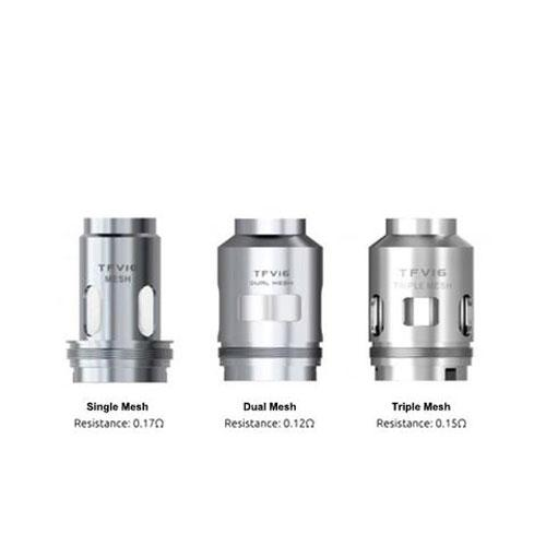 SMOK TFV16 Tank Replacement Coils (Pack of 3)-Blazed Vapes