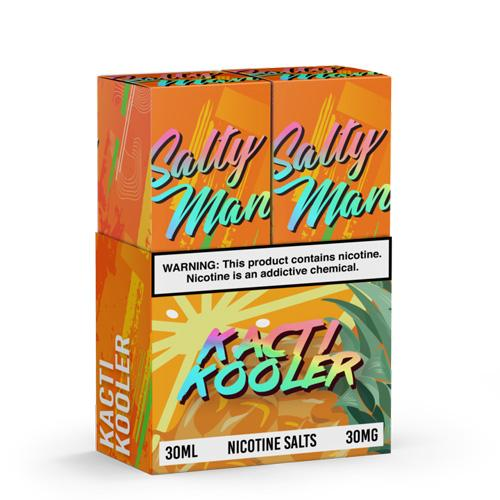 Salty Man Twin Pack Kacti Kooler 2x30ml Vape Juice-Blazed Vapes