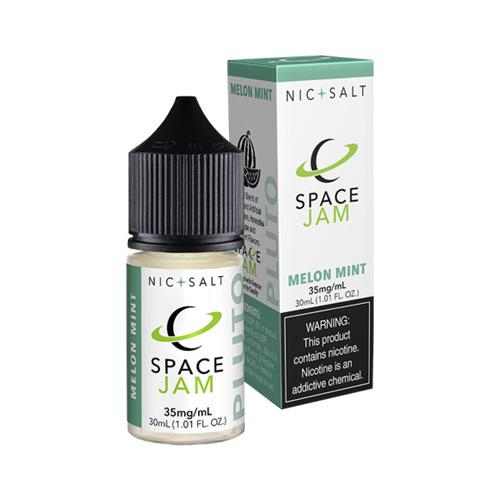 Space Jam Nic Salt Melon Mint (Pluto) 30ml Nic Salt Vape Juice-Blazed Vapes