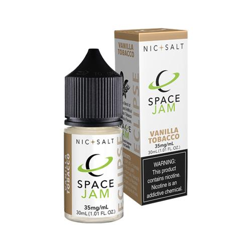 Space Jam Nic Salt Vanilla Tobacco (Eclipse) 30ml Nic Salt Vape Juice-Blazed Vapes