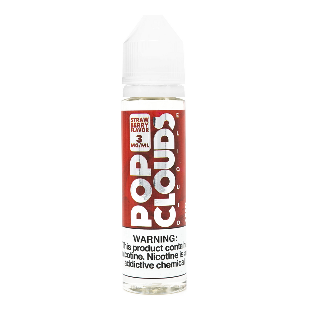 Pop Clouds Strawberry 60ml Vape Juice-Blazed Vapes