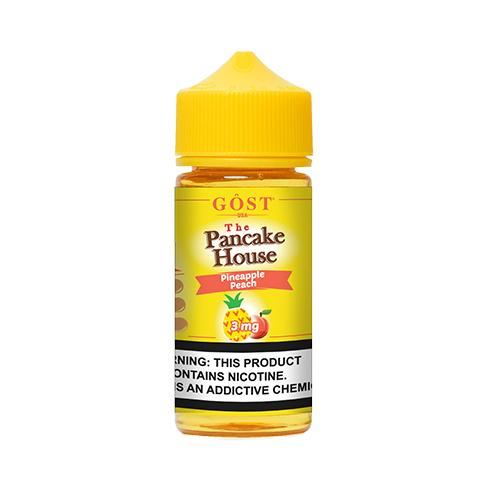 The Pancake House Pineapple Peach 100ml Vape Juice-Blazed Vapes