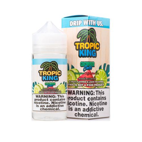 Tropic King Cucumber Cooler 100ml Vape Juice-Blazed Vapes