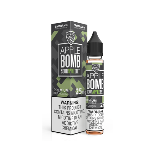 VGOD SaltNic Apple Bomb 30ml Nic Salt Vape Juice-Blazed Vapes