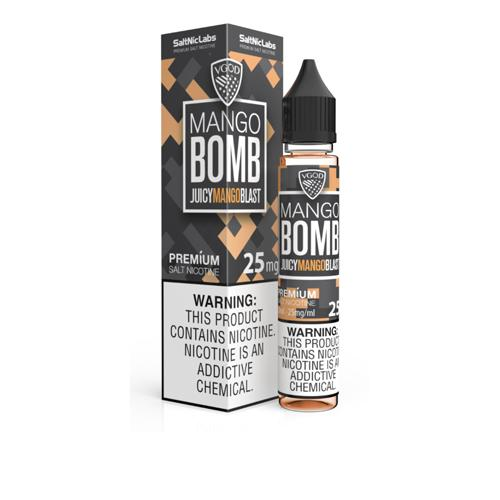 VGOD SaltNic Mango Bomb 30ml Nic Salt Vape Juice-Blazed Vapes