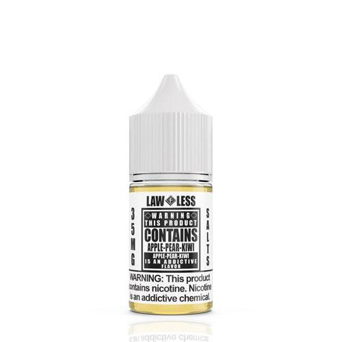 Warning Salts Apple Pear Kiwi 30ml Nic Salt Vape Juice-Blazed Vapes