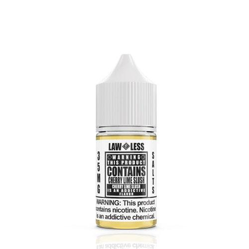 Warning Salts Cherry Lime Slush 30ml Nic Salt Vape Juice-Blazed Vapes