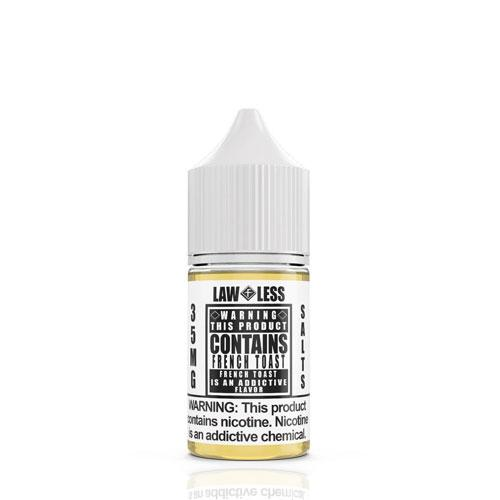 Warning Salts French Toast 30ml Nic Salt Vape Juice-Blazed Vapes