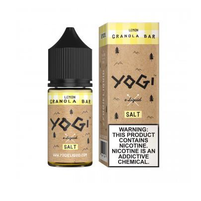 Yogi Salts Lemon Granola Bar 30ml Salt Vape Juice-Blazed Vapes