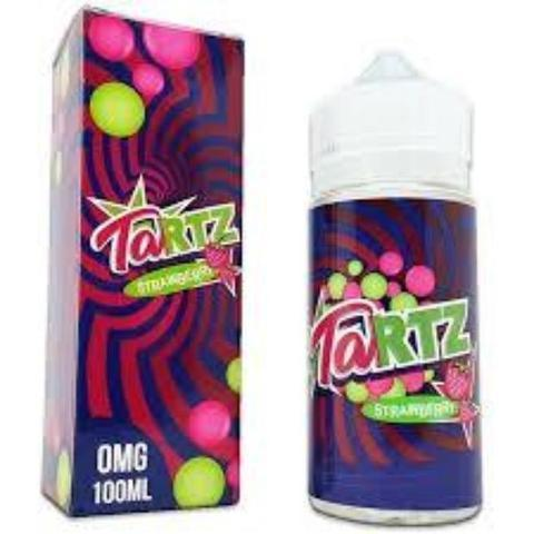 Air Factory Tartz Vape Juice Strawberry 100ml-Blazed Vapes