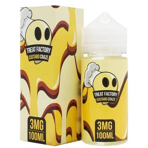 Air Factory Treat Factory Vape Juice Custard Craze 100ML-Blazed Vapes