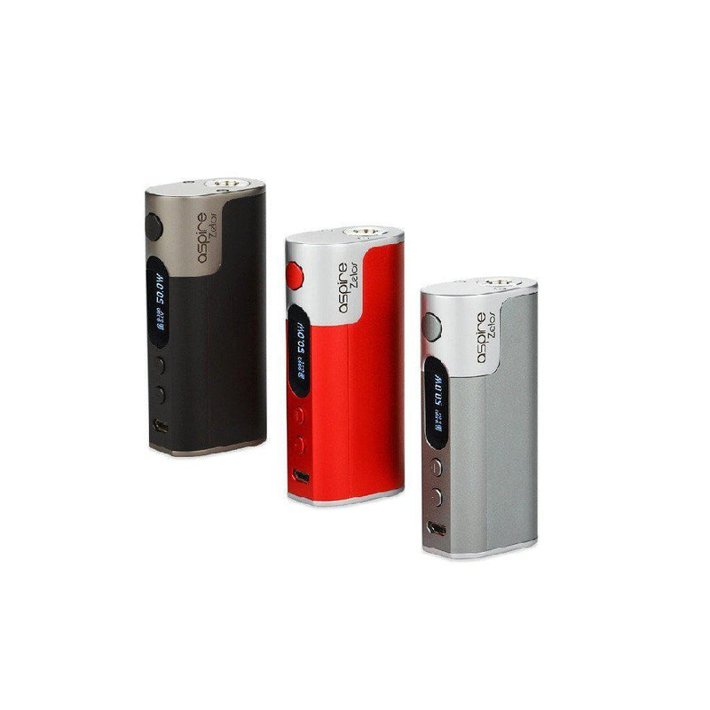 Aspire Zelos 50W Mod Only-Blazed Vapes