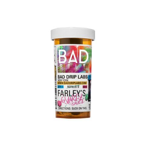 Bad Drip Farley's Gnarly Sauce 30ml Salt Nic Vape Juice-Blazed Vapes