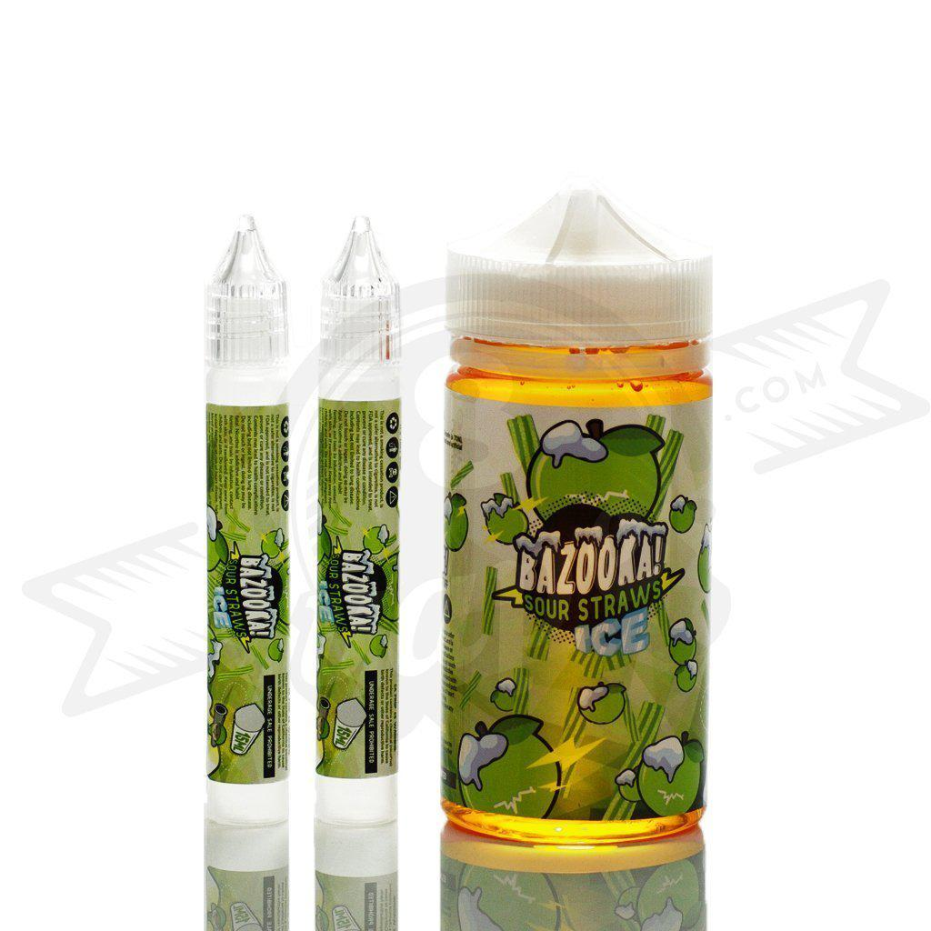 Bazooka ICE Green Apple Vape Juice (200mL)-Blazed Vapes