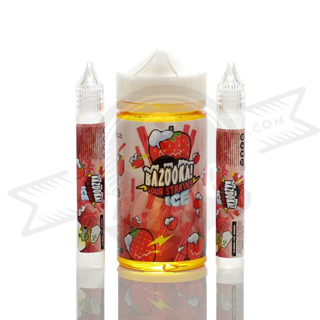 Bazooka ICE Strawberry Vape Juice (200mL)-Blazed Vapes