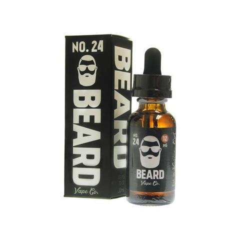 Beard Vape Co No. 24 - Salted Caramel Malt (120ml)-Blazed Vapes