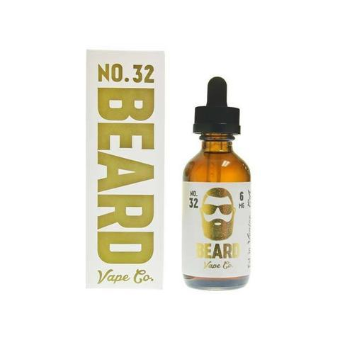 Beard Vape Co No. 32 - Cinnamon Funnel Cake (120ml)-Blazed Vapes