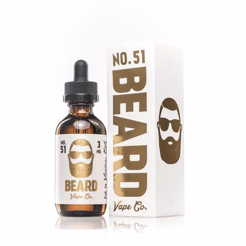Beard Vape Co No 51- Vanilla Custard (60ml)-Blazed Vapes