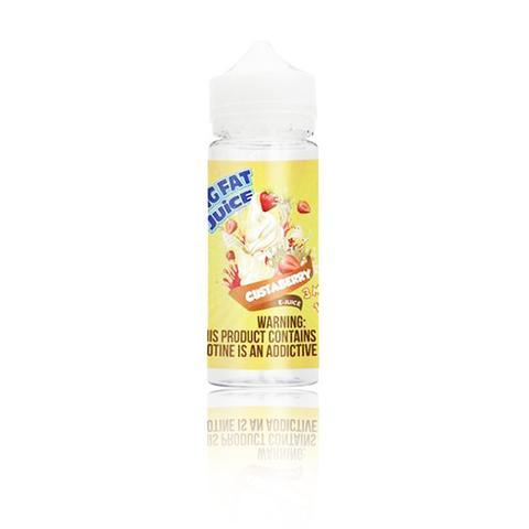 Big Fat Juice Custaberry 120ml Vape Juice-Blazed Vapes