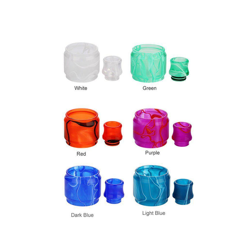 Blitz TFV8 Replacement Resin Kit (Drip tip + Tube)-Blazed Vapes