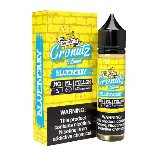 Cronutz Blueberry 60ml Vape Juice-Blazed Vapes