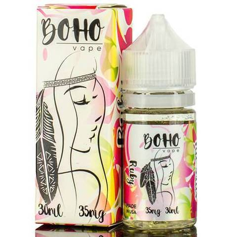 Boho Vape Ruby Salt 30ml Vape Juice-Blazed Vapes