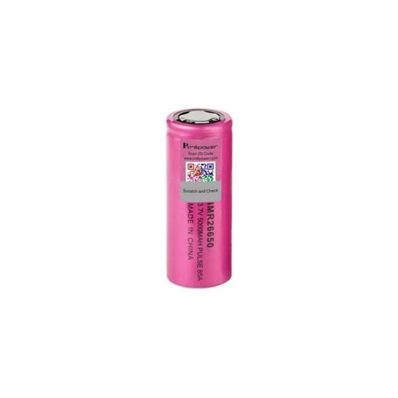 Brillipower IMR 26650 5000mah 85A Battery - Pink-Blazed Vapes