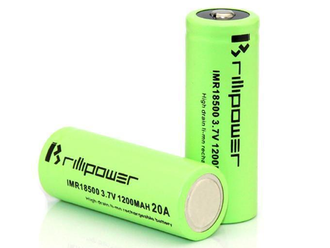 Brillipower Imr18500 1200Mah 20A-Blazed Vapes