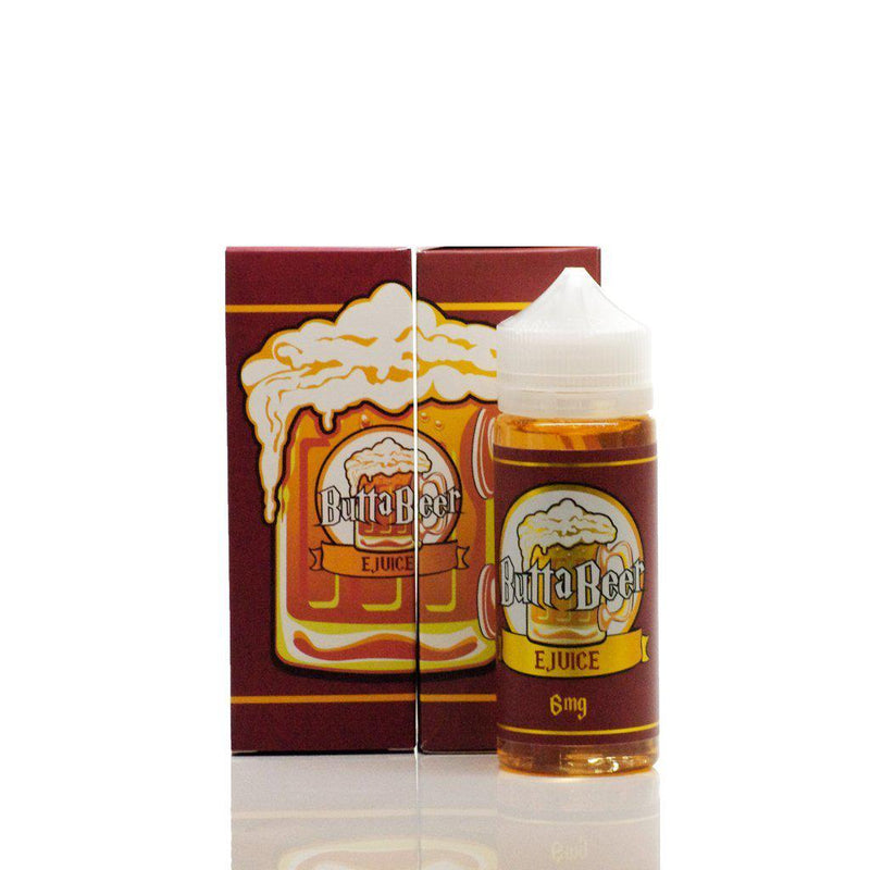 ButtaBeer E-Juice - Red (120ml)-Blazed Vapes