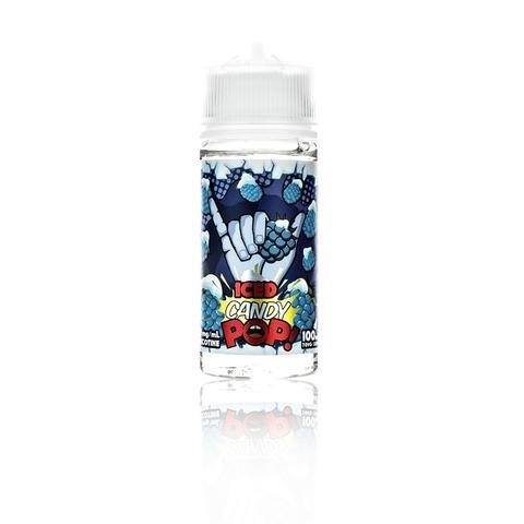 Candy POP! Blue Raspberry Hard Candy ICED 100ml Vape Juice-Blazed Vapes