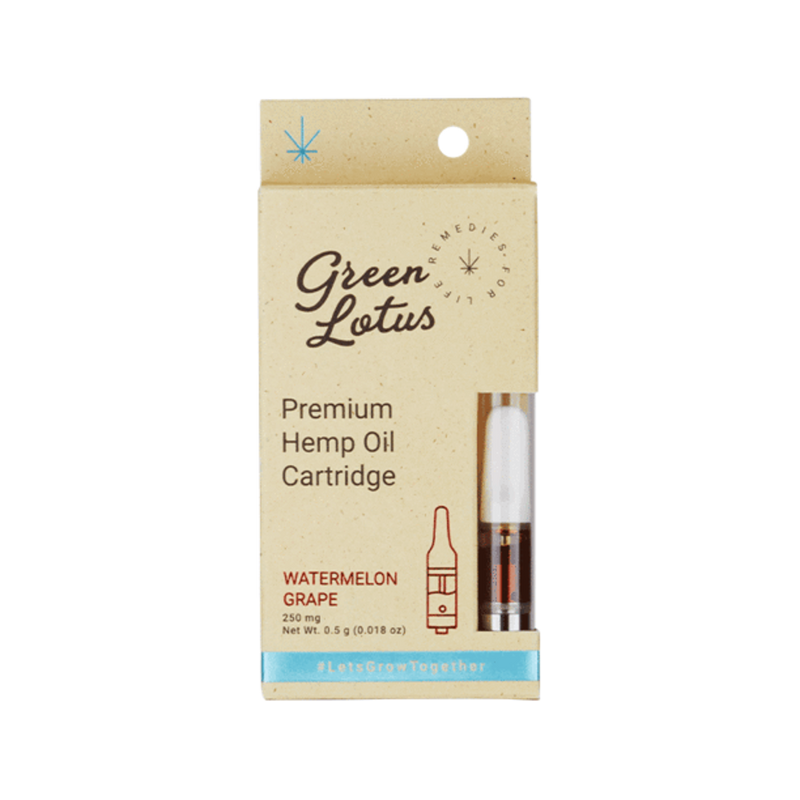 Green Lotus Hemp Premium Hemp Oil Cartridge-Blazed Vapes