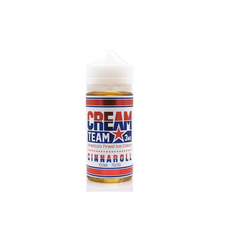 Cinnaroll by Cream Team Vape Juices (100mL)-Blazed Vapes