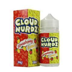 Cloud Nurdz Strawberry Lemon 100ml Vape Juice-Blazed Vapes