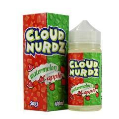 Cloud Nurdz Watermelon Apple 100ml Vape Juice-Blazed Vapes