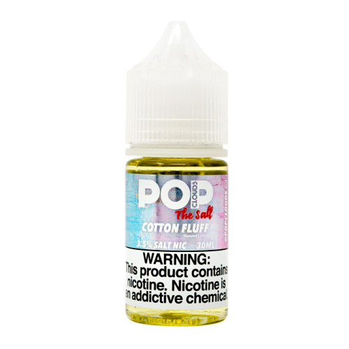 Pop Clouds Cotton Fluff 30ml Nic Salt Vape Juice-Blazed Vapes