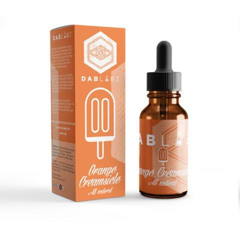 Dab Labz Orange Creamsicle 30ml Concentrate Mixing Eliquid-Blazed Vapes