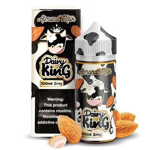 Dairy King Vape Juice Almond Milk 100ml-Blazed Vapes