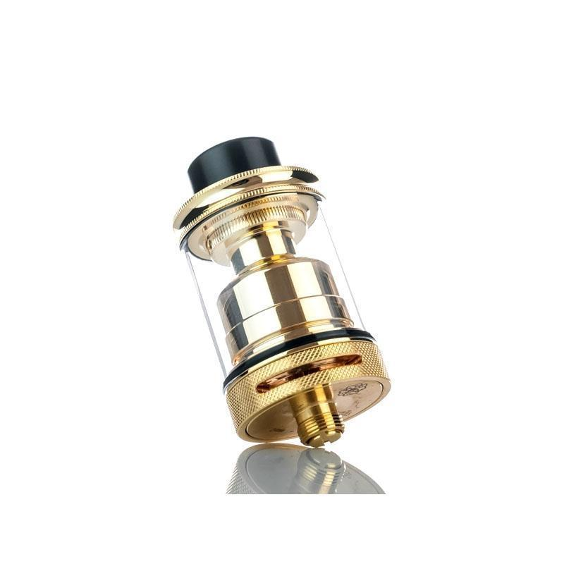 Dotmod Petri 24mm Gold Plated Postless RTA-Blazed Vapes
