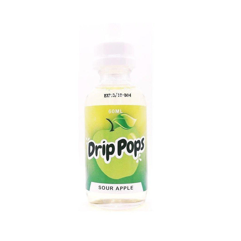 Drip Pops Sour Apple by 7 Daze (60mL)-Blazed Vapes