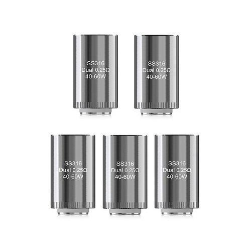Eleaf Dual Coil 0.25 Ohm (Pack of 5)-Blazed Vapes