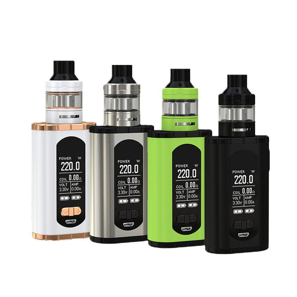 Eleaf Invoke Starter Kit | Invoke 220W TC Mod with Ello T Tank-Blazed Vapes