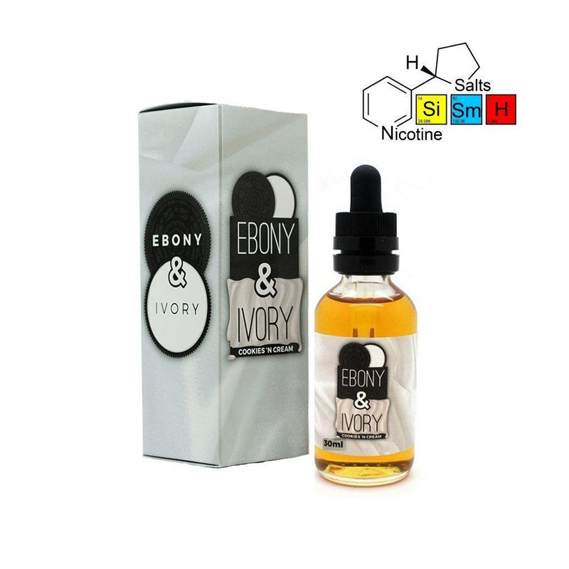 Enfuse Vapory - Ebony and Ivory with Salt Nic (30ml)-Blazed Vapes