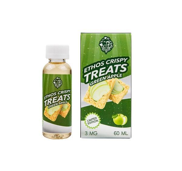 Ethos Green Apple Crispy Treats (60mL)-Blazed Vapes