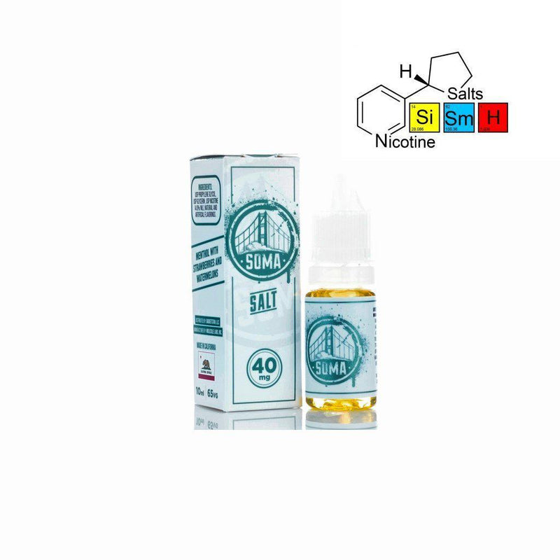 Frisco Vapors Soma with Salt Nic (10mL)-Blazed Vapes