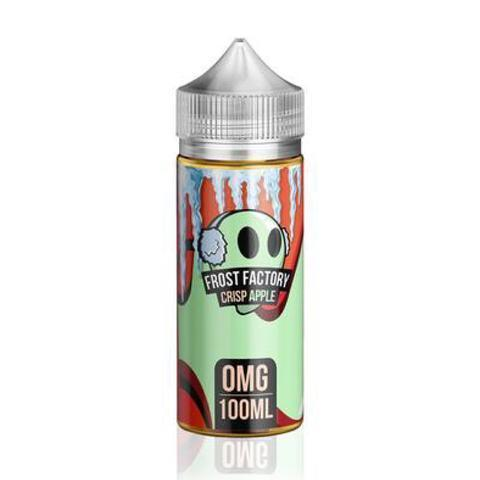 Frost Factory Vape Juice Crisp Apple 100ml-Blazed Vapes