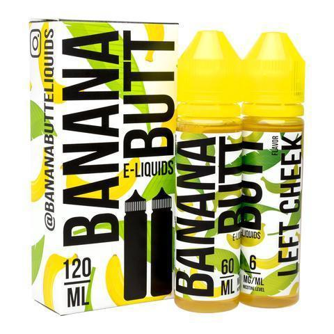 Fryd Banana Butt Left Cheek 120ml Vape Juice-Blazed Vapes