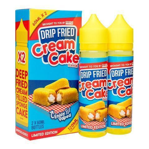 FRYD Vape Juice Drip Fried Cream Cake 120ml-Blazed Vapes