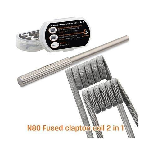 Geek Vape N80 Fused Clapton Coil 2 in 1-Blazed Vapes